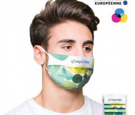 Notre sélection de masques anti covid personnalisés !